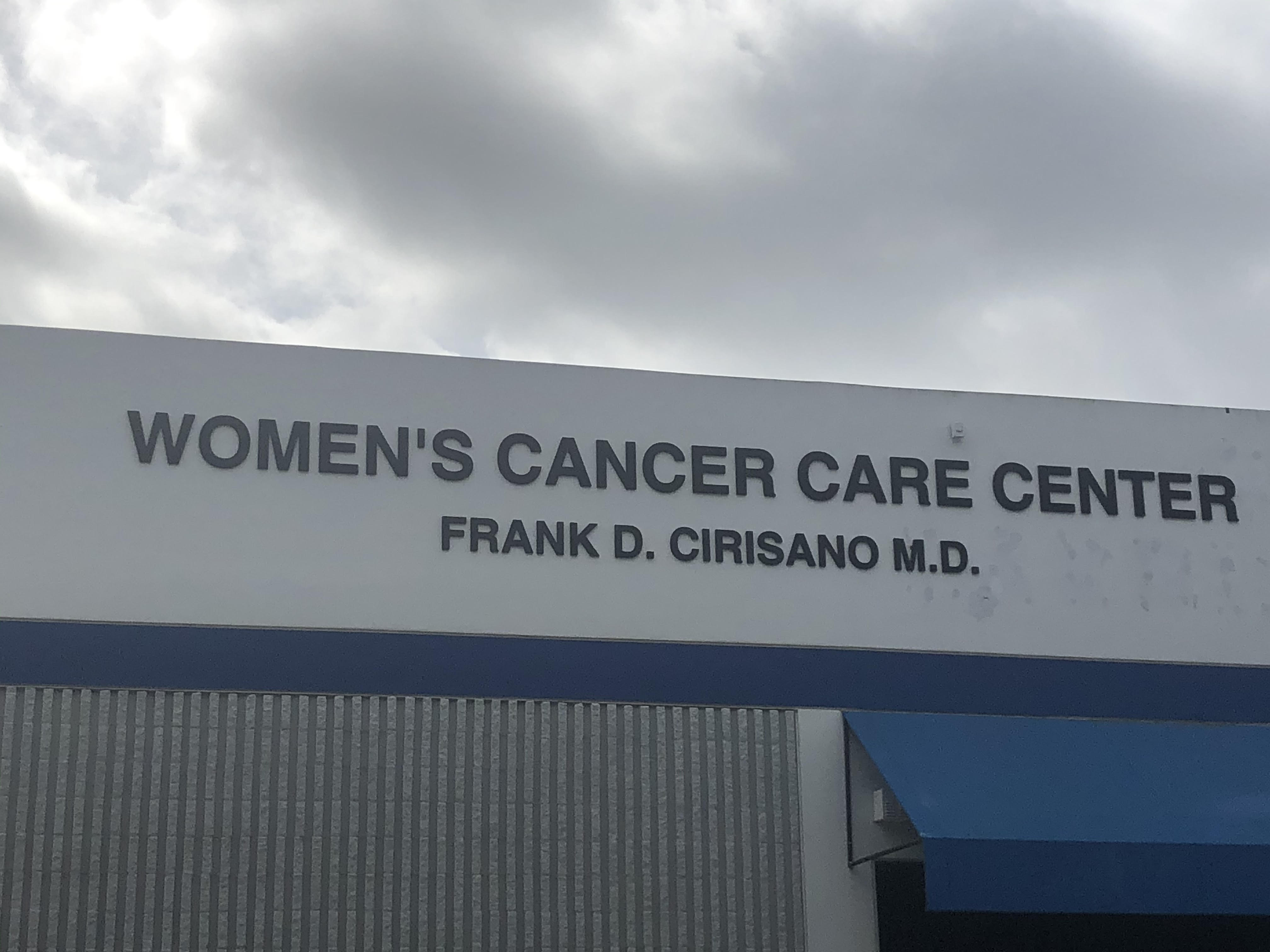 women cancer care building